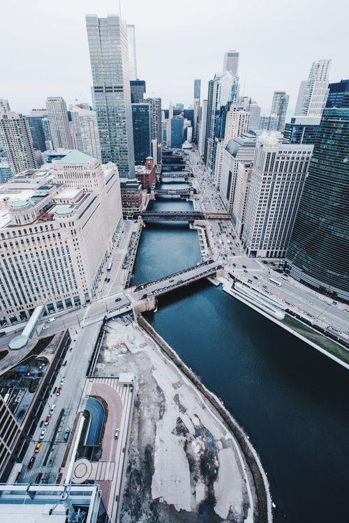 Обои Чикаго, США, небоскребы картинки на телефон