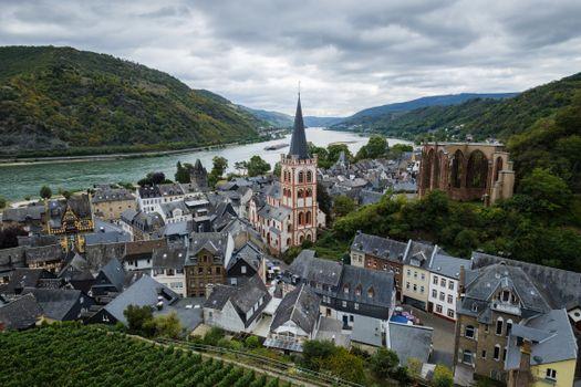 Фото бесплатно реки Германии, города, горы