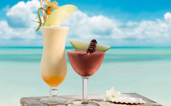 Фото бесплатно напиток, сок, коктейль