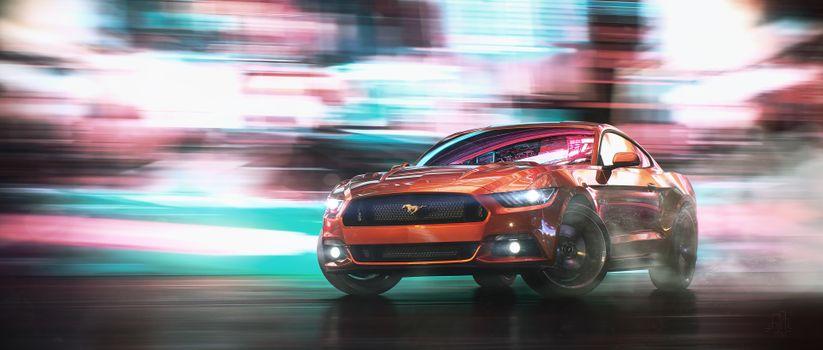 Фото бесплатно Ford, Behance, Drifting