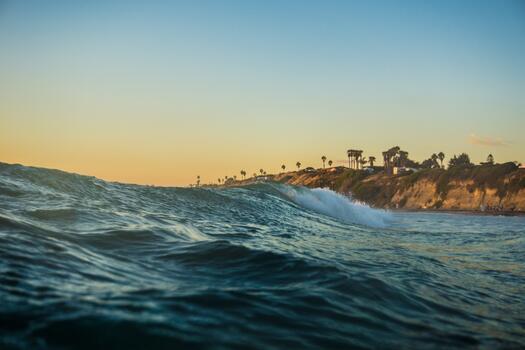 Photo free bay, wave, ocean wave