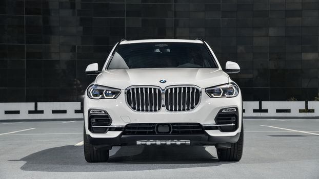 Photo free BMW all-wheel drive, automobiles, view from front