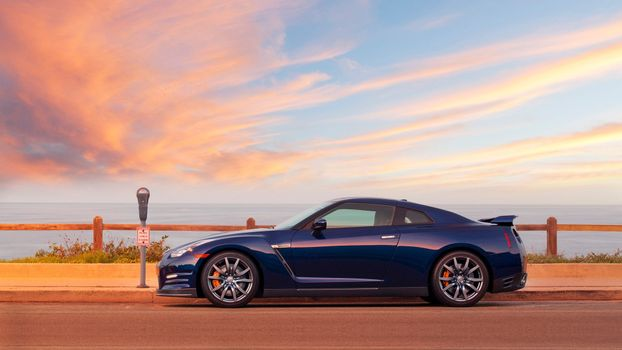 Photo free Nissan GT R, sports car, cars