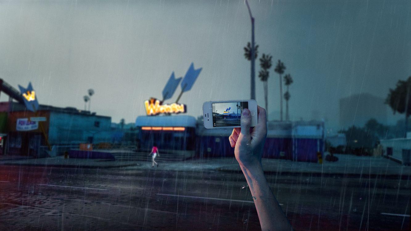 Фото бесплатно цифровое искусство, 500 пикселей, смартфон - на рабочий стол