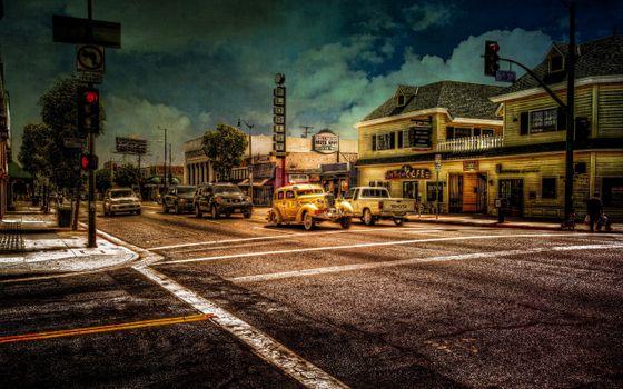 Photo free street, picturesque, city