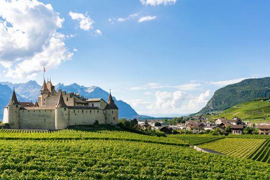 Фото бесплатно города, Швейцария, замки