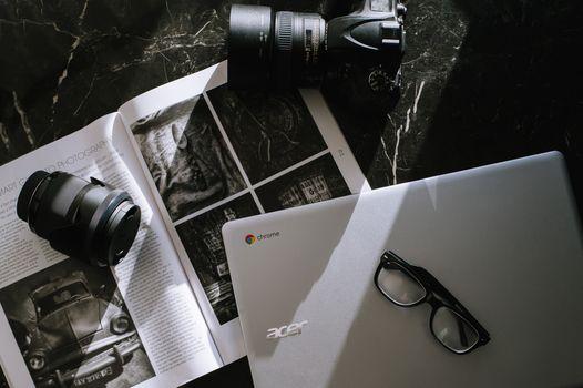 Бесплатные фото бизнес,ноутбук,работа,технология,компьютер,камера,google chromebooks,создание,фотография,acer