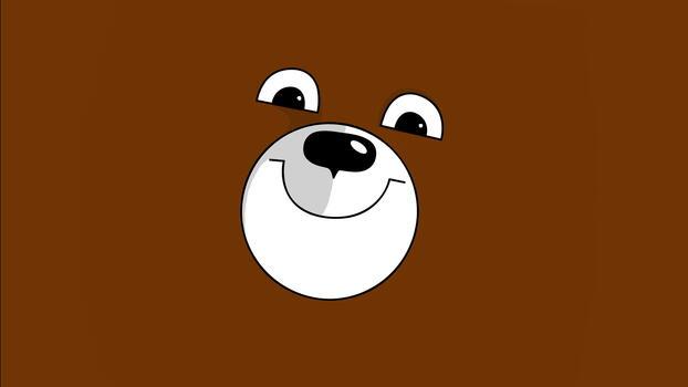Drawing a bear`s muzzle