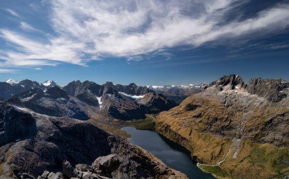 Фото бесплатно природа, Новая Зеландия, горы