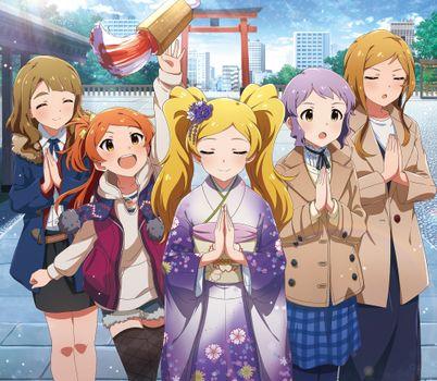 Photo free the idolmaster million live, shrine, torii
