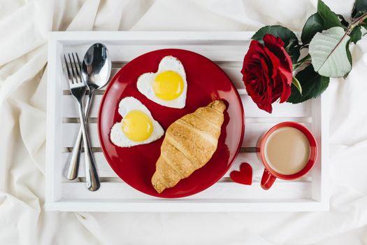 Photo free food, heart, fried egg