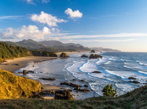 Фото бесплатно побережье, облака, пейзаж сша