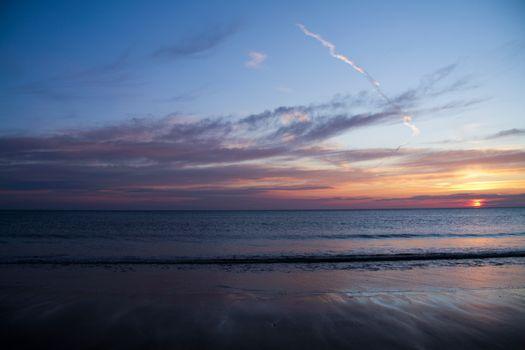 Фото бесплатно пляж, облака, отлив