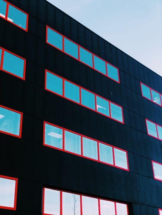 Фото бесплатно фасад, окна, здание, минимализм, facade, windows, building, minimalism, город