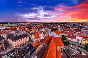 Заставки Мюнхен, Германия, город