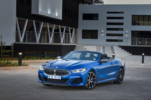 Photo free colors, BMW cabriolet, light blue cabriolet