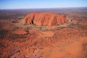 Фото бесплатно бэдлендс, Австралия, вади