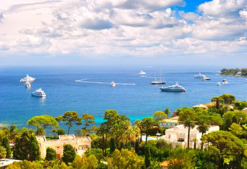 Красивые обои яхты, пейзаж