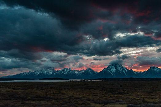 Фото бесплатно горы, облака, облачно