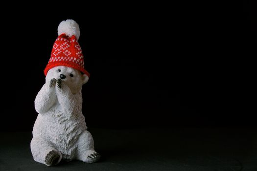 Photo free bear, statuette, hat