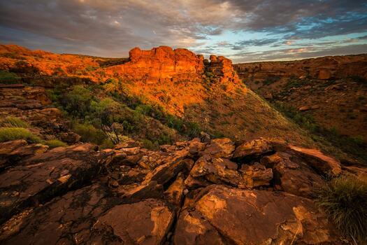 Фото бесплатно долина, дикая местность, форма рельефа
