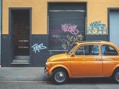 Photo free retro, cars, side view