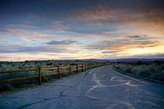 Заставки дорога, красочное, небо