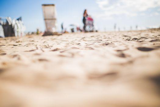 Заставки пляж, песок, людей