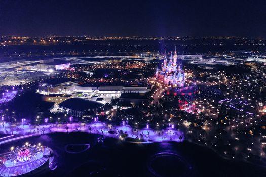 Photo free night, Disney, Disneyland