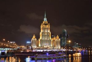 Photo free The Radisson Royal Hotel, Moscow, Russia