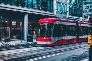 Фото бесплатно Торонто, трамвай, фотография