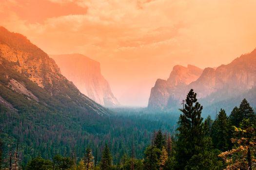 Фото бесплатно Йосемити, заповедник, горы