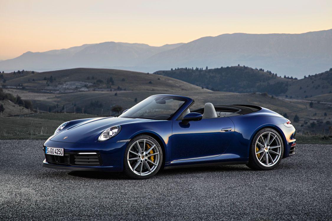 Фото бесплатно Porsche, 2018 автомобили, Porsche 911 - на рабочий стол