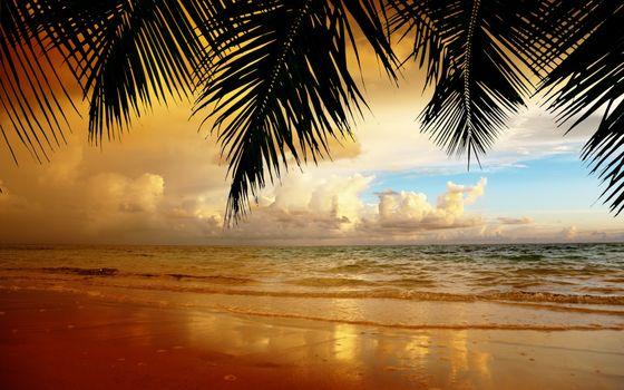 Фото бесплатно океан, пейзаж, облака