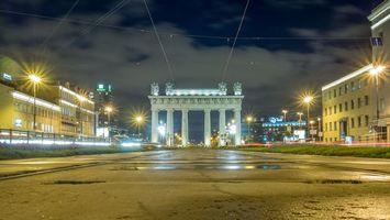 Московские Триумфальные ворота, Санкт-Петербург
