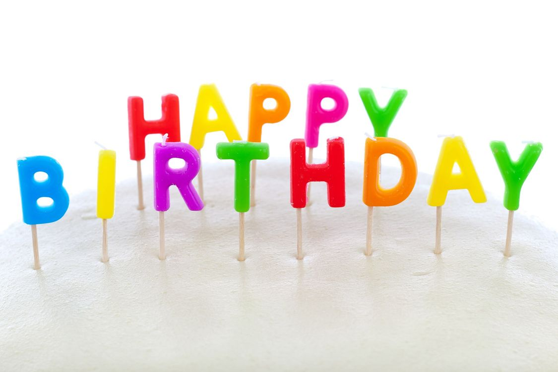 Фото праздник свечи с днём рождения - бесплатные картинки на Fonwall