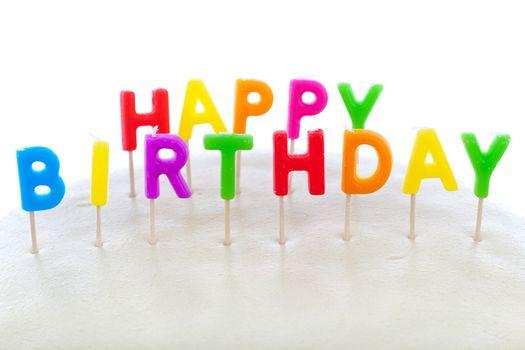 Фото бесплатно праздник, свечи, с днём рождения