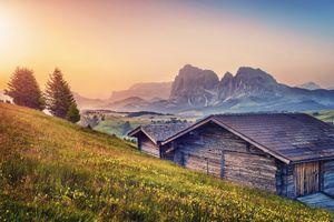 Фото бесплатно Тироль, Альпы, горы