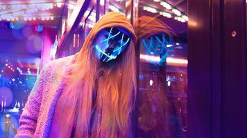 Фото бесплатно женщина, маска, анонимка