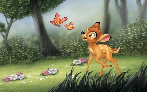 Photo free bambi, animation, disney