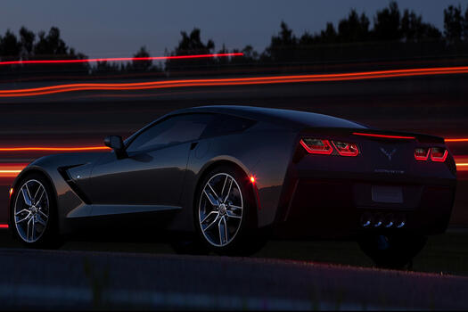 Photo free Corvette, wheel, concept car