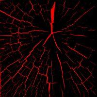 Фото бесплатно трещины, красный, черный