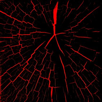 Бесплатные фото трещины,красный,черный,cracks,red,black