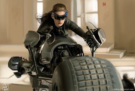 Заставки Catwoman, супергерои, художественное произведение