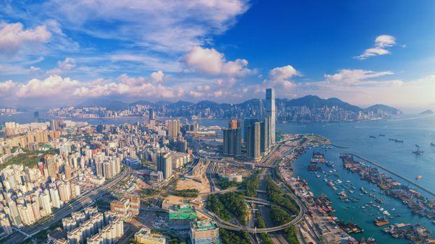 Photo free China, Kowloon Peninsula, Hong Kong city