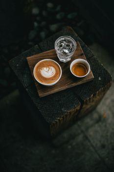 Обои кофе,вода,чашки,напитки,coffee,water,cups,drinks