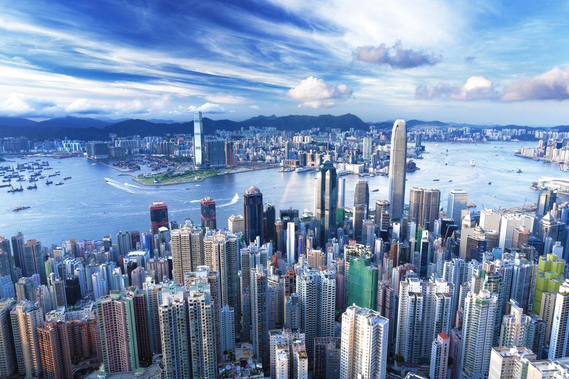Фото бесплатно Kong, дома, небоскребы - на рабочий стол
