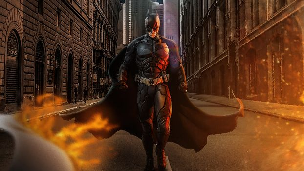 Photo free batman, superheroes, artwork