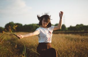 Photo free girl, clothes, nature