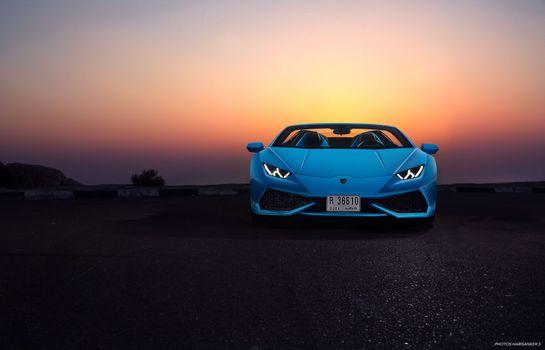 Фото бесплатно Lamborghini, художник, Behance